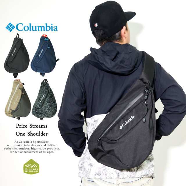 Columbia (コロンビア) ボディバッグ PRICE STREAM ONE-SHOULDER (PU8234)