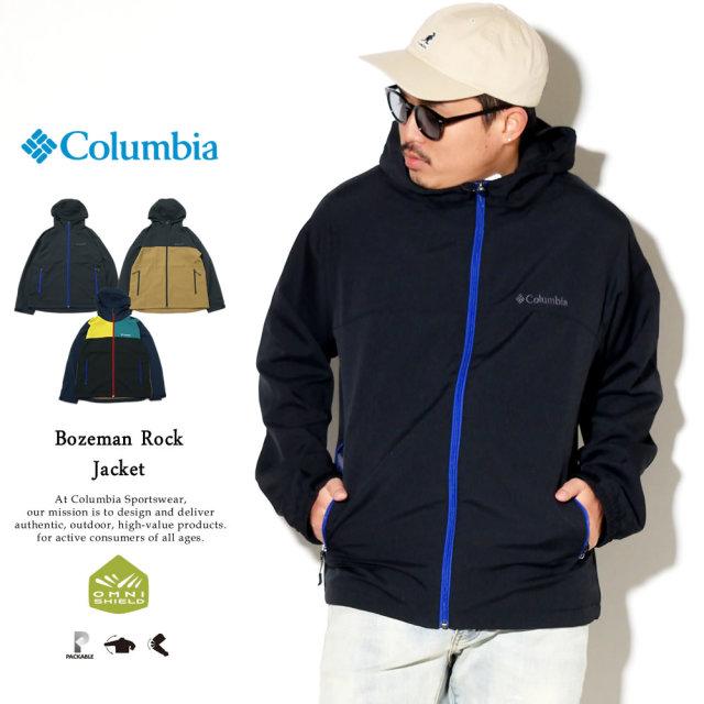 Columbia (コロンビア) ウィンドブレーカー BOZEMAN ROCK JACKET (PM3799)