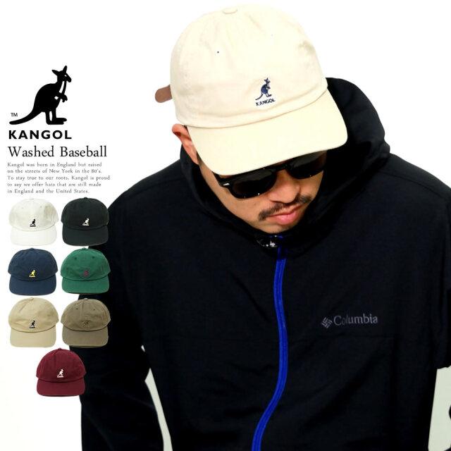 KANGOL (カンゴール) キャップ Washed Baseball (105169002)