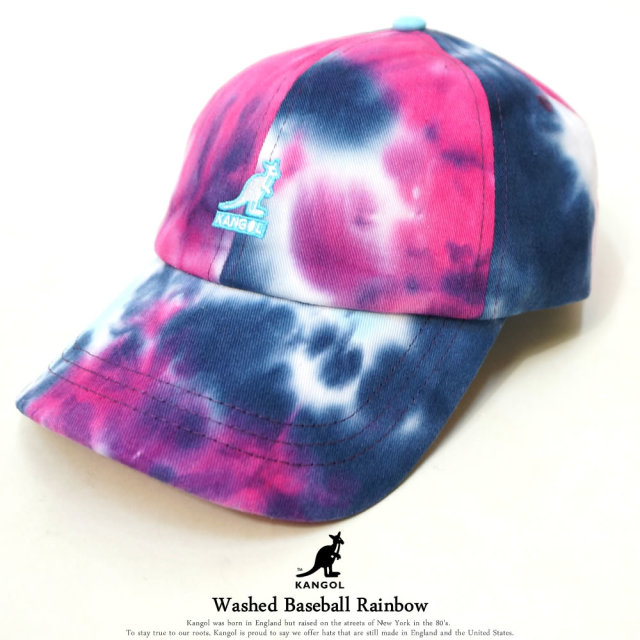 KANGOL (カンゴール) キャップ Washed Baseball Rainbow (105169014)