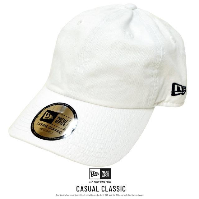 NEW ERA (ニューエラ) キャップ CASUAL CLASSIC ベーシック ホワイト (12326081)