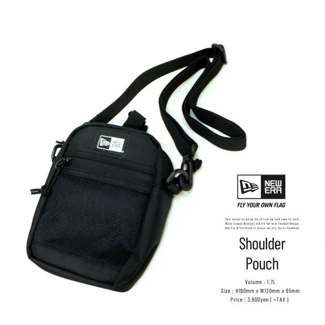 NEW ERA (ニューエラ) ショルダーポーチ SHOULDER POUCH 2 ブラック (12325642)