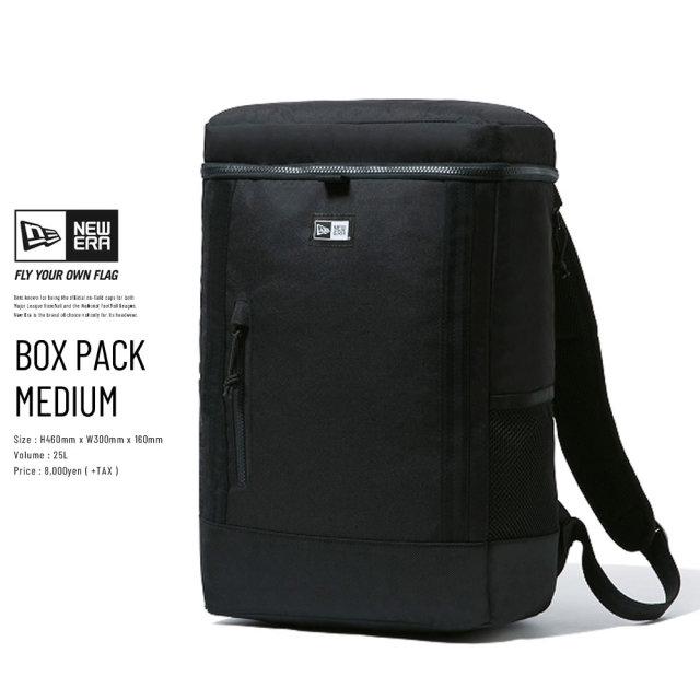 NEW ERA (ニューエラ) バックパック BOX PACK MEDIUM ブラック (12326114)
