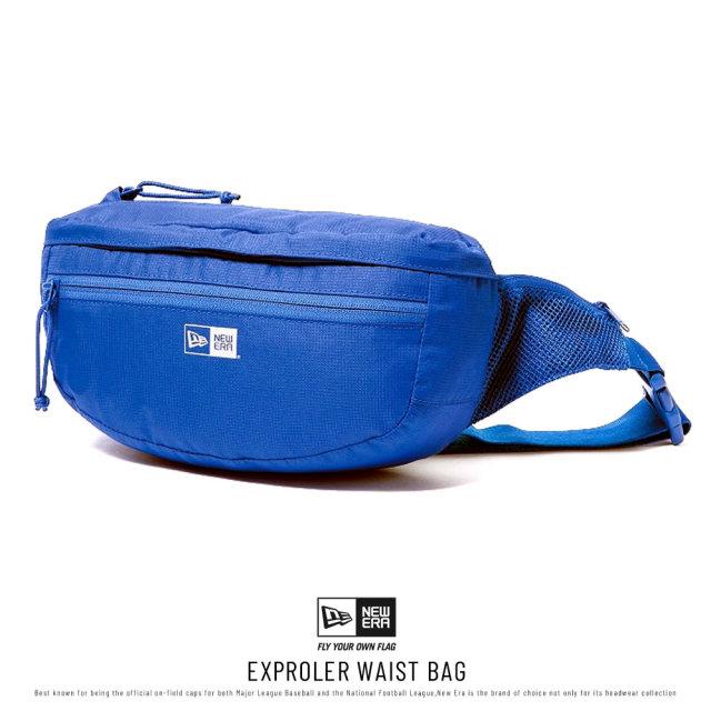 NEW ERA (ニューエラ) ウエストバッグ EXPLORER WAIST BAG ロイヤル (12336598)