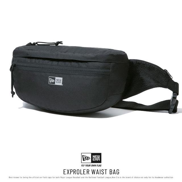 NEW ERA (ニューエラ) ウエストバッグ EXPLORER WAIST BAG ブラック (12336600)
