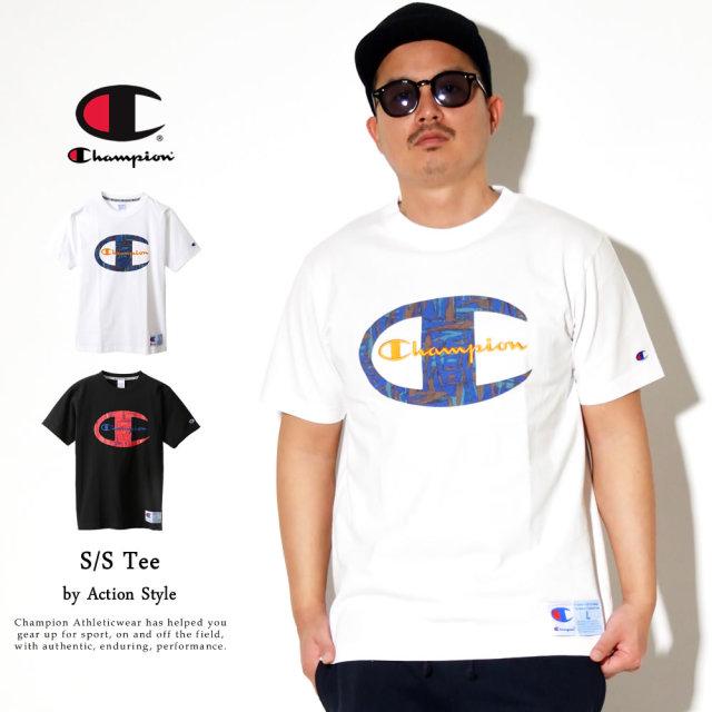 Champion (チャンピオン) Tシャツ メンズ 半袖 アクションスタイル Tシャツ (C3-R306)