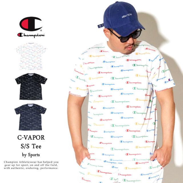 Champion (チャンピオン) Tシャツ メンズ 半袖 吸汗速乾 抗菌・防臭 スポーツ C VAPOR Tシャツ (C3-RS304)