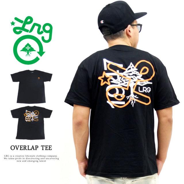 LRG (エルアールジー) Tシャツ メンズ 半袖 OVERLAP TEE (J201006)