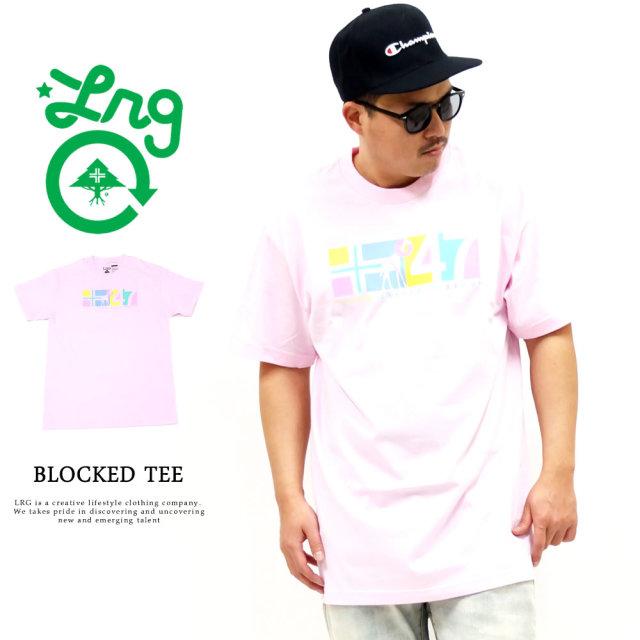 LRG (エルアールジー) Tシャツ メンズ 半袖 BLOCKED TEE (J201009)