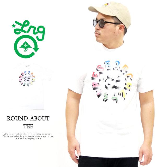LRG (エルアールジー) Tシャツ メンズ 半袖 ROUND ABOUT TEE (B201009)