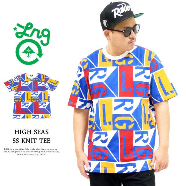 LRG (エルアールジー) Tシャツ メンズ 半袖 HIGH SEAS SS KNIT TEE (C201011)