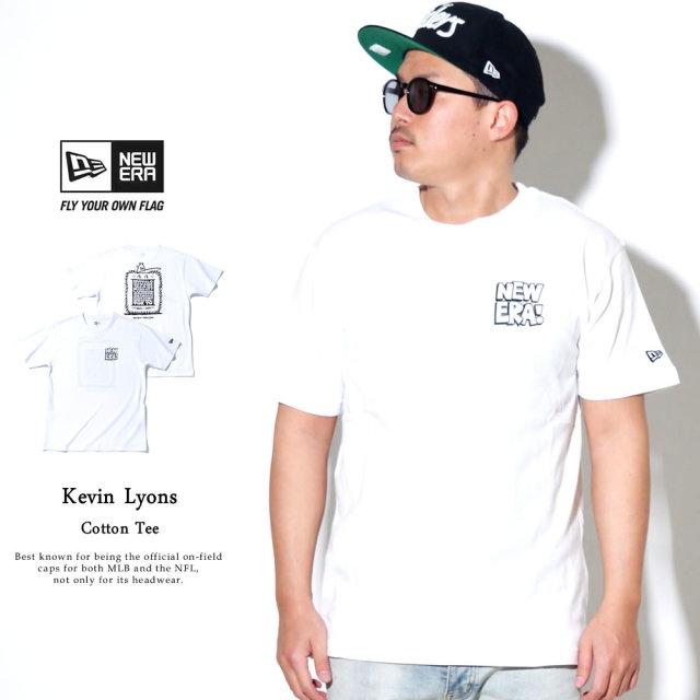 NEW ERA (ニューエラ) コラボ 半袖Tシャツ Kevin Lyons ケヴィン・ライオンズ オリジナル ストア ホワイト (12362079)