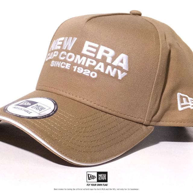 NEW ERA (ニューエラ) キャップ 帽子 メンズ レディース 9FORTY A-Frame サンドイッチバイザー NEW ERA CAP COMPANY 1920 カーキ×ホワイト (12479424)