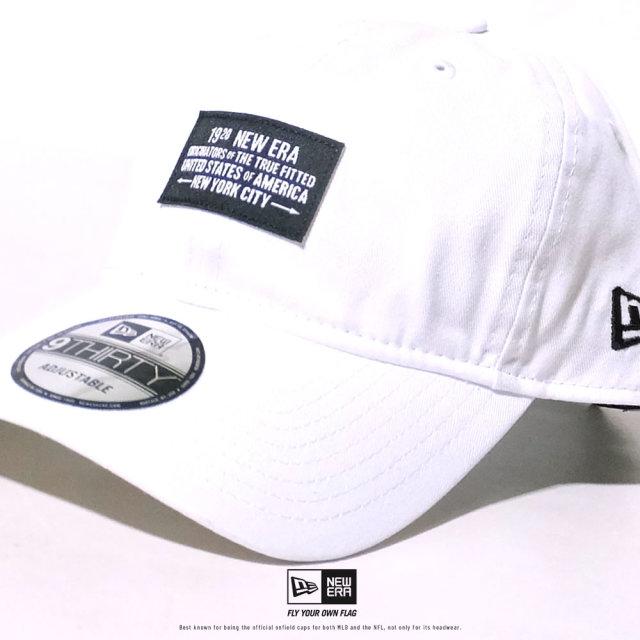 NEW ERA (ニューエラ) キャップ 帽子 メンズ レディース 9THIRTY ウーブンパッチ 1920 NEW ERA ホワイト (12479426)