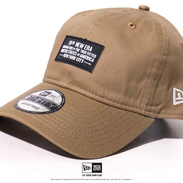 NEW ERA (ニューエラ) キャップ 帽子 メンズ レディース 9THIRTY ウーブンパッチ 1920 NEW ERA カーキ (12479427)