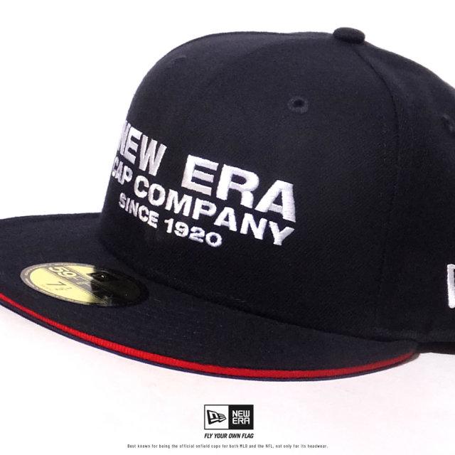NEW ERA (ニューエラ) キャップ 帽子 メンズ 59FIFTY サンドイッチバイザー NEW ERA CAP COMPANY 1920 ネイビー×ホワイト (12479430)