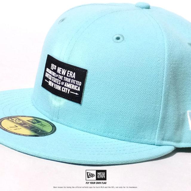 NEW ERA (ニューエラ) キャップ 帽子 メンズ 59FIFTY ウーブンパッチ NEW ERA 1920 ブルーティント (12479442)