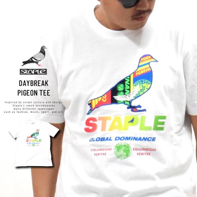 ステイプル (STAPLE) Tシャツ メンズ 半袖 デイブレイクピジョンTシャツ (2002C5903)