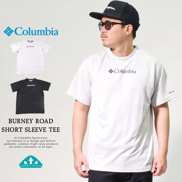 コロンビア (Columbia) 半袖Tシャツ 吸湿・速乾機能 BURNEY ROAD SHORT SLEEVE TEE (PM1886)