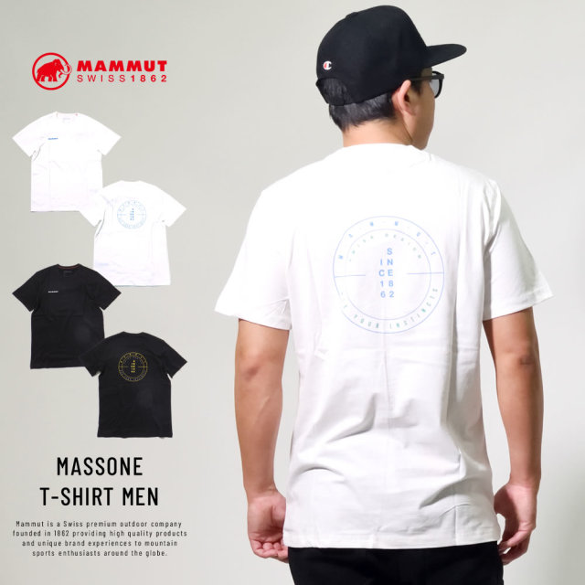 マムート (MAMMUT) 半袖Tシャツ MASSONE T-SHIRT MEN (1017-00951)