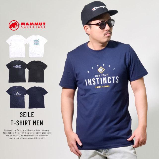 マムート (MAMMUT) 半袖Tシャツ UVカット SEILE T-SHIRT MEN (1017-00972)