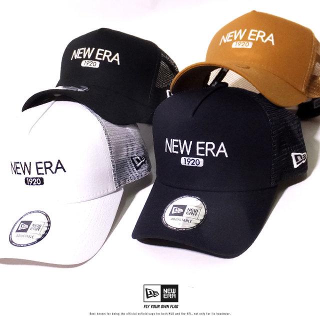 ニューエラ NEW ERA メッシュキャップ 帽子 9FORTY A-Frame トラッカー ダックキャンバス NEWERA1920