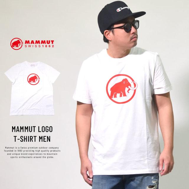 マムート MAMMUT Tシャツ メンズ 半袖 MAMMUT LOGO T-SHIRT MEN (1017-07294)