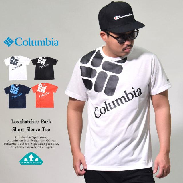 コロンビア Columbia Tシャツ メンズ 半袖 吸湿速乾機能 ロクサハッチパーク ショートスリーブTシャツ (PM1878)