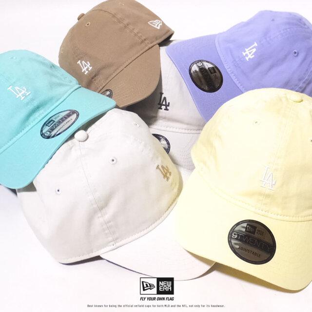 ニューエラ NEW ERA キャップ メンズ 帽子 9TWENTY ロサンゼルス・ドジャース ミニロゴ 2020SS