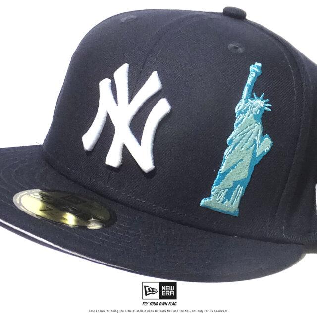 ニューエラ NEW ERA キャップ メンズ 帽子 59FIFTY チームディスクライブ ニューヨーク・ヤンキース ネイビー (12513961) 2020SS