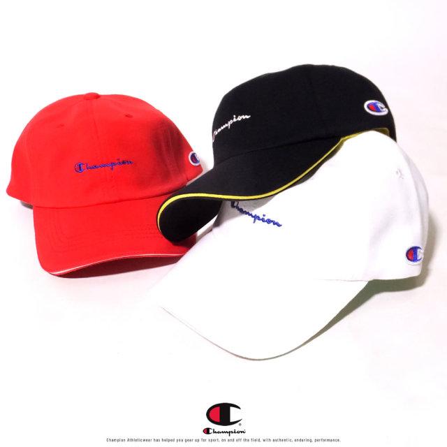 Champion (チャンピオン) キャップ 帽子 メンズ レディース SCRIPT LOGO CAP (181-0019)