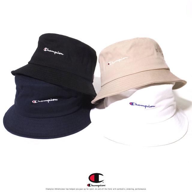 Champion (チャンピオン) バケットハット 帽子 メンズ レディース SCRIPT LOGO BUCKET HAT (587-006A)