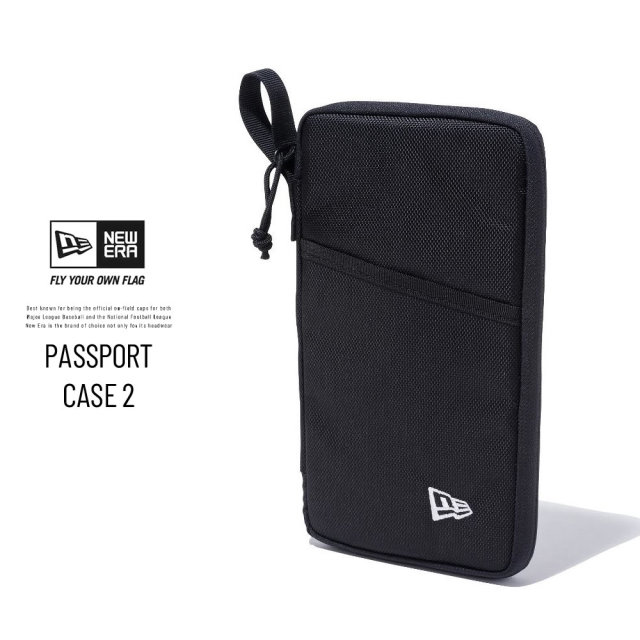 NEW ERA (ニューエラ) パスポートケース 2 ブラック (12325612)