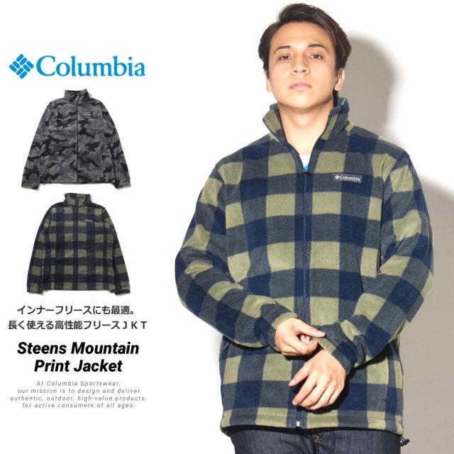 コロンビア Columbia ナイロンジャケット メンズ スティーンズマウンテンプリント ジャケット WE6017