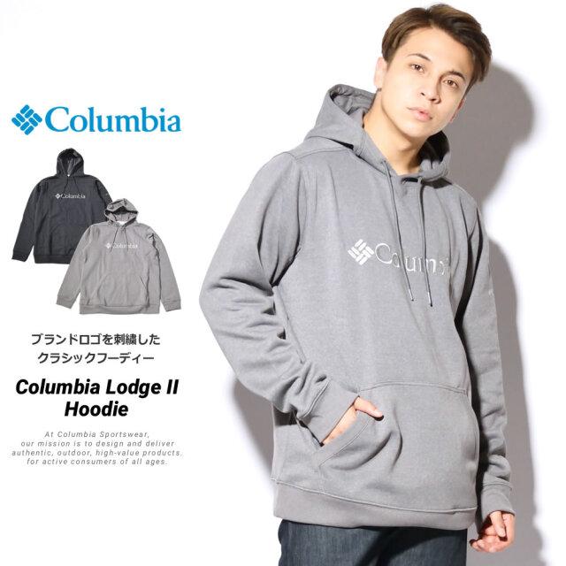 コロンビア Columbia パーカー メンズ プルオーバー スウェット 裏起毛 コロンビアロッジII フーディー JO1600