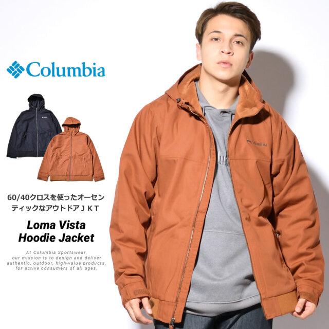 コロンビア Columbia マウンテンパーカー メンズ 中綿 裏フリース ロマビスタ フーデッドジャケット WE1074