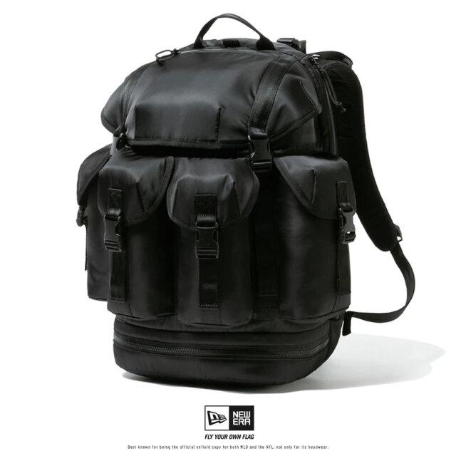 NEW ERA ニューエラ リュック バックパック メンズ レディース 40L ユーティリティ4パックパック ブラックサテン 12541065