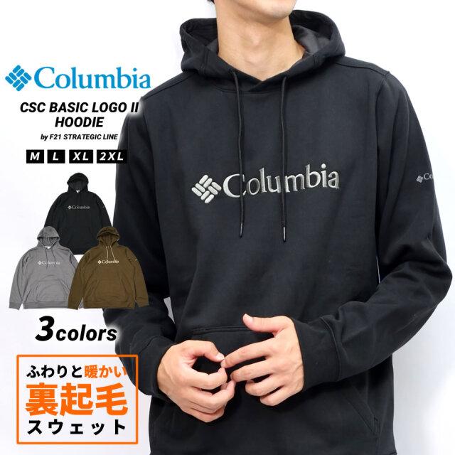 コロンビア Columbia パーカー メンズ スウェット 裏起毛 アウトドア ブランド コロンビアベーシックロゴIIフーディー JO1600