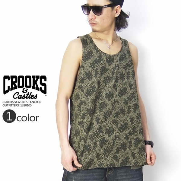 CROOKS&CASTLES タンクトップ OUTFITTERS I1320105