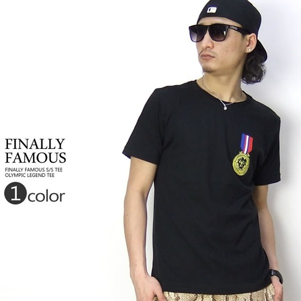 FINALLY FAMOUS Tシャツ OLYMPIC LEGEND TEE 40007FF