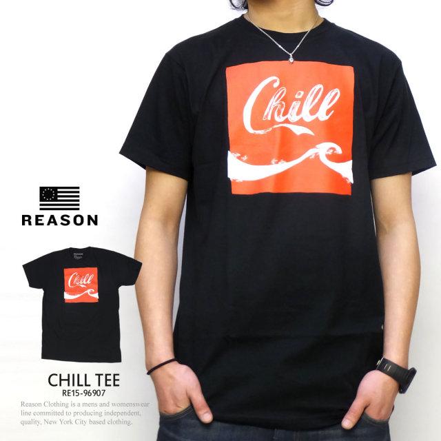 REASON リーズン 半袖Tシャツ CHILL TEE RE15-96907 5V1114
