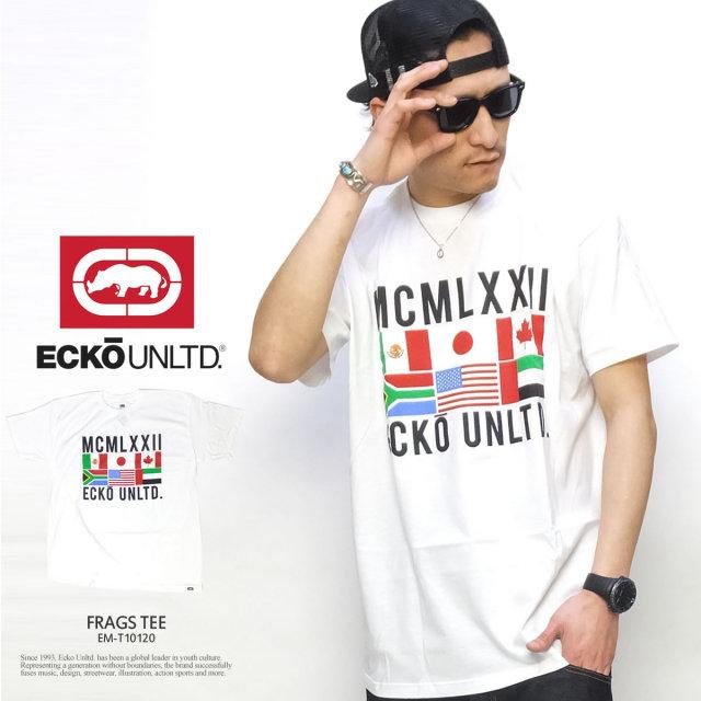 ECKO UNLTD エコーアンリミテッド 半袖Tシャツ FRAGS TEE EM-T10120 5V1155