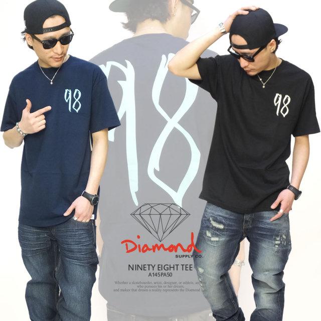 DIAMOND DUPPLY CO ダイヤモンドサプライ 半袖Tシャツ NINETY EIGHT TEE A145PA50 5V1200
