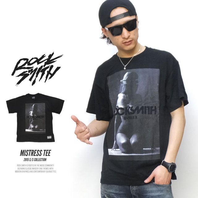 ROCK SMITH ロックスミス 半袖Tシャツ MISTRESS TEE 51RS0711 5V1364