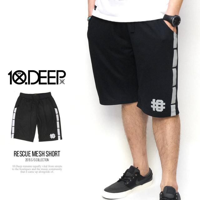 10DEEP テンディープ バスケットボールショーツ RESCUE MESH SHORT 51TD1420 5V1368