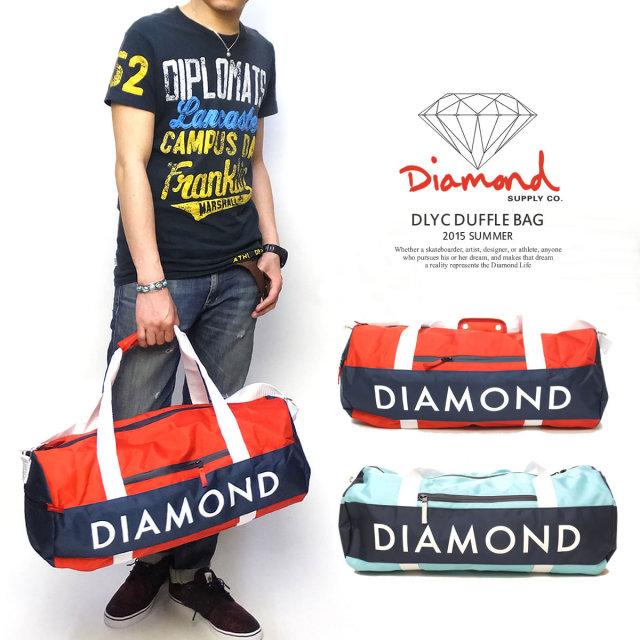 DIAMOND SUPPLY CO. ダイヤモンドサプライ ダッフルバッグ DLYC DUFFLE BAG B15DCE01 5V3158
