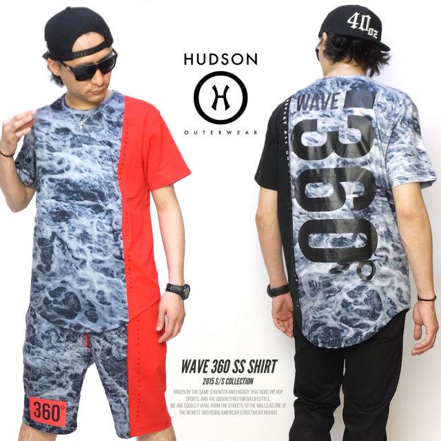 HUDSON ハドソン 半袖Tシャツ WAVE 360 SS SHIRT H15334 5V3249