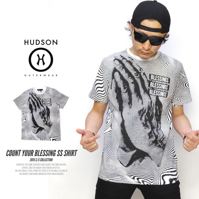 HUDSON ハドソン 半袖Tシャツ COUNT YOUR BLESSING SS SHIRT H15354 5V3250