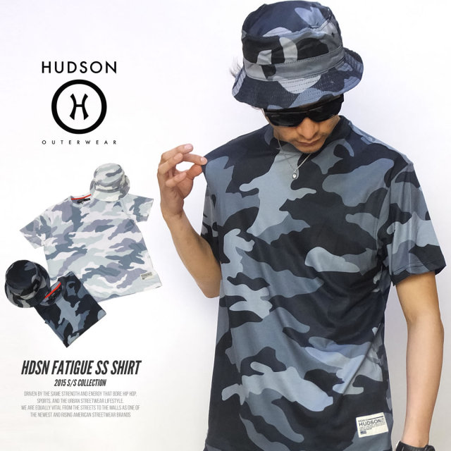 HUDSON ハドソン 半袖Tシャツ HDSN FATIGUE SS SHIRT H15298 5V3303