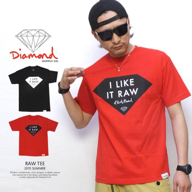 ダイヤモンドサプライ Diamond Supply Co. Tシャツ メンズ RAW TEE×ODB (Z15DPA361)